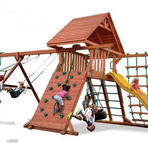 Un-Level Yard Playsets and Swingsets
