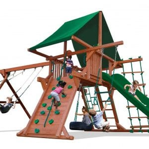 Angle Base Playsets and Swingsets