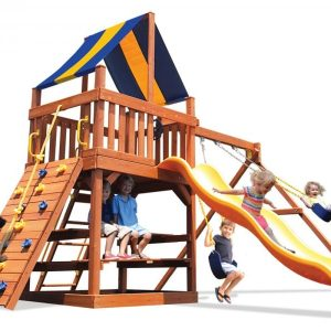 Square Base Playsets and Swingsets
