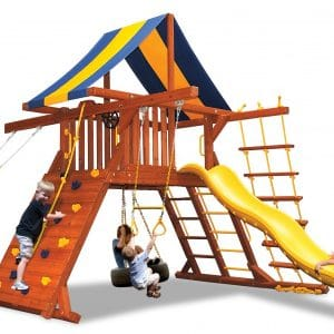 Space Saver Playsets and Swingsets